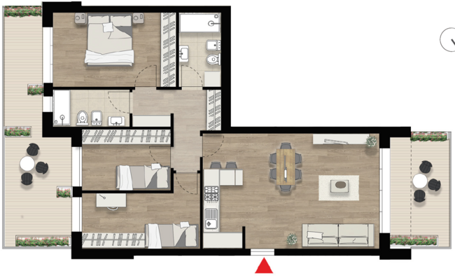 Appartamento D3