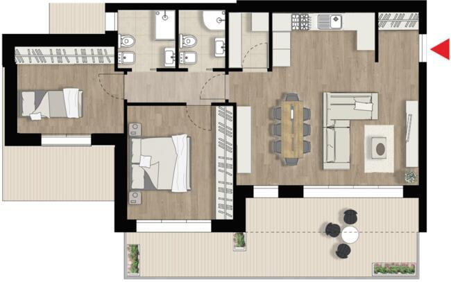 Appartamento D11