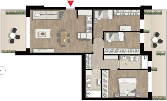 Appartamento A8