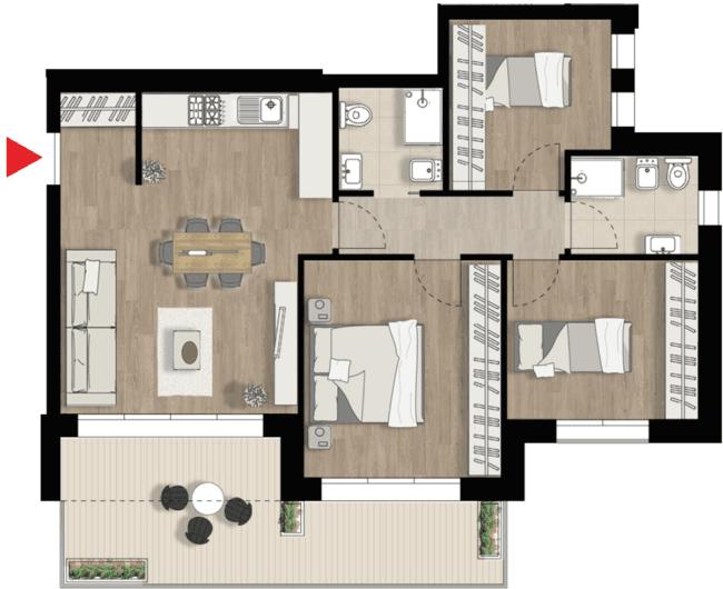 Appartamento C4