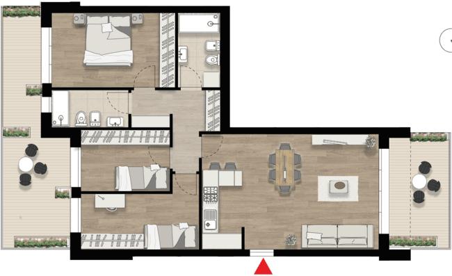 Appartamento D6