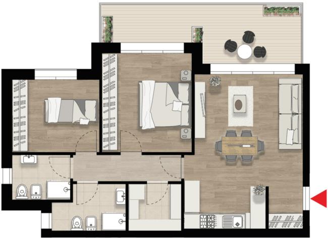 Appartamento F2