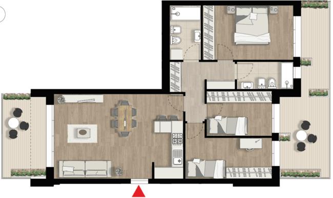 Appartamento E6