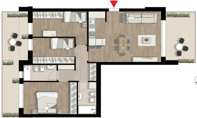 Appartamento F3