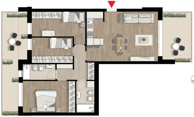 Appartamento F6