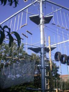 Super Offerta parco avventura Autoportante a 3 piani...no autorizzazioni...all inclusive 59.900,00!