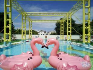 Offerta Last Second a Rimini hotel 4 stelle con piscina riscaldata All inclusive