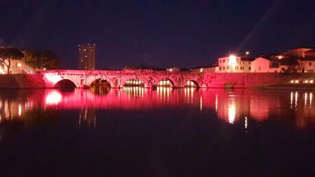 Super-Promo für die Rosa Nacht in Rimini im Hotel in Strandnähe