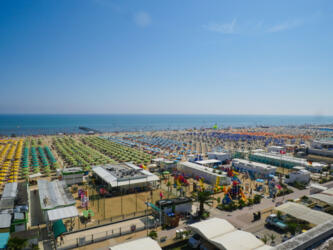 Hotel offer on the sea for the first week of August in Rimini