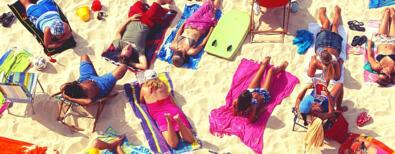 Urlaub Letzte Woche im Juni in Rimini im Hotel direkt am Strand