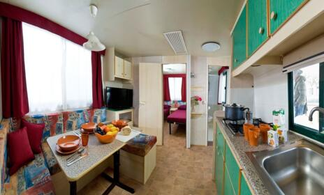 MONTHLY OFFER - SEASONAL STANDARD MOBILE HOME CAMPING VILLAGE MISANO