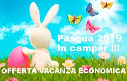 OFFERTA PASQUA 2019 - OFFERTA ECONOMICA PER CAMPER PASQUA 2019 -  RIMINI RICCIONE MISANO CATTOLICA