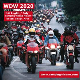 WDW | WORLD DUCATI WEEK - ISCRIZIONI - MISANO 2020