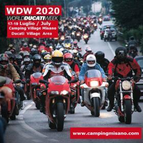 NUOVA DATA WDW 2020 - WORLD DUCATI WEEK - FROM 17 TO 19 July 2020