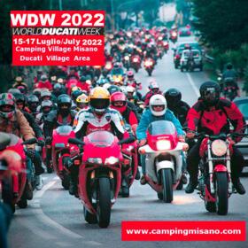 NUOVA DATA WDW 2022 - WORLD DUCATI WEEK - FROM 15 TO 17 July 2022