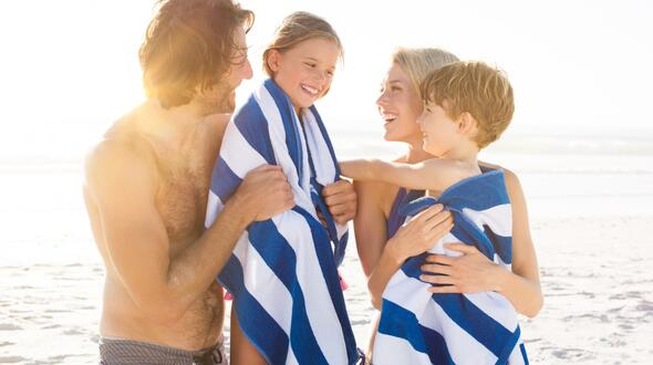 Mid-August 2020 with children staying free in family hotel