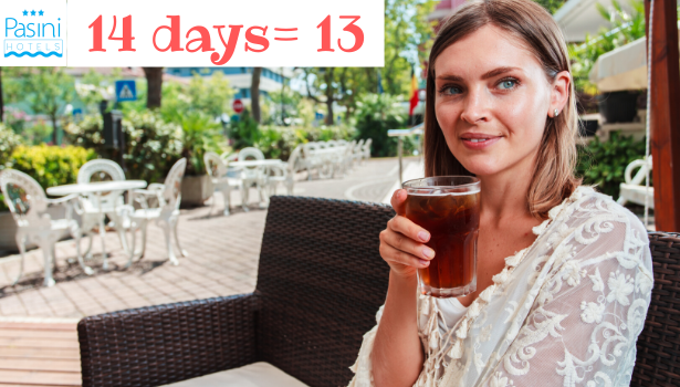 Super offerta soggiorni lunghi: 1 giorno gratis!