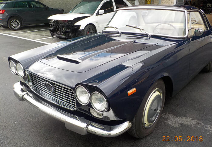 Restauro Lancia Flaminia Touring Superleggera