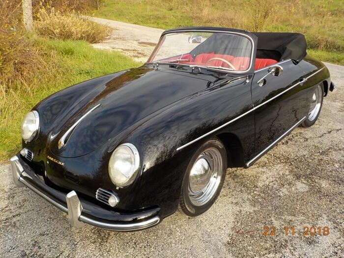 Completamento Restauro Porsche 356 A Cabrio 1957