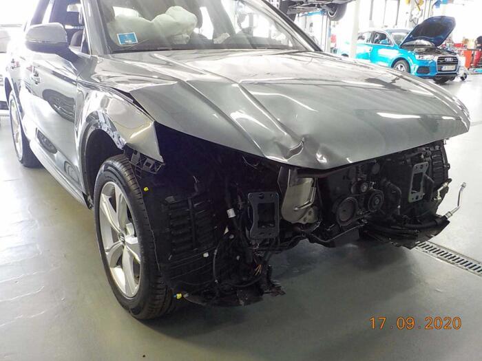 Riquadratura parte anteriore telaio Audi Q5 2020