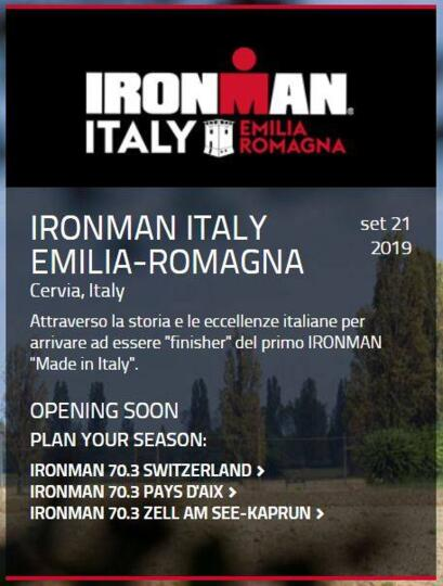 Offerta Ironman Cervia