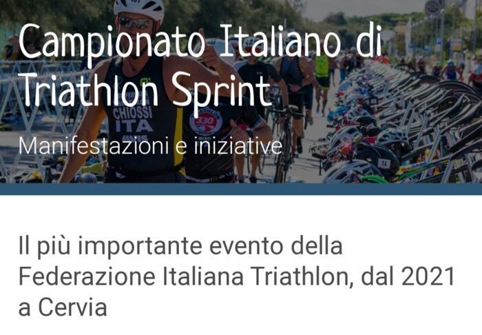 Campionato italiano triatlon 2021 e non solo.