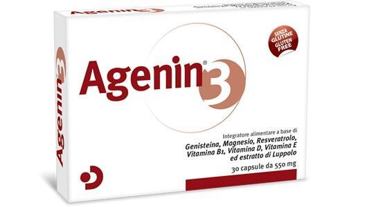 Agenin®3: NUOVO FORMATO MENSILE IN CAPSULA DURA