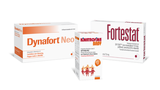 Dynafort® Neo, Fortestat® a Kinatrofina® Baby: from 1st Semptember 2016, three new references in