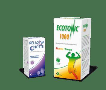 Ecotonic® 1000 e Relaxiva® notte: due nuove referenze nel listino di Difass