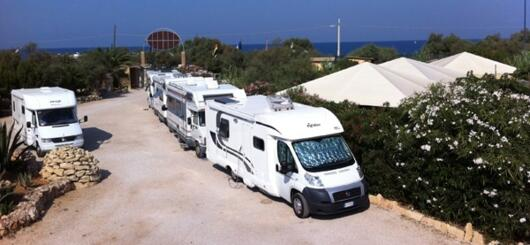 Salento: Promo for Camper, Caravans and Tents in August and September