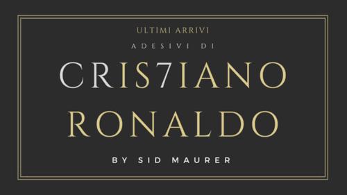 Ultimi arrivi: adesivi di Cristiano Ronaldo!