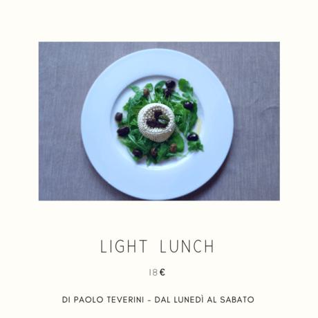 Light Lunch a 18€