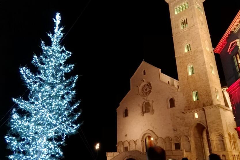Nouvel An en B&B à Trani dans un hôtel en bord de mer et dans le centre