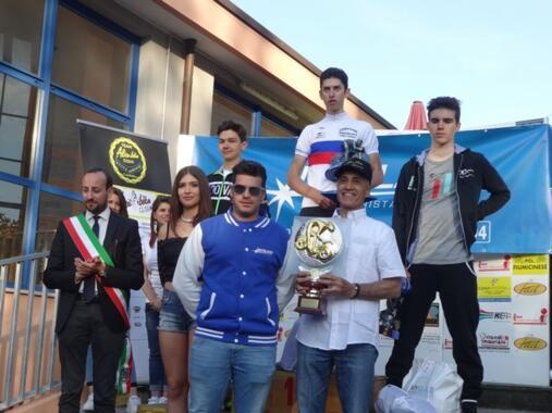 Michael Antonelli si impone nel Trofeo Myglass