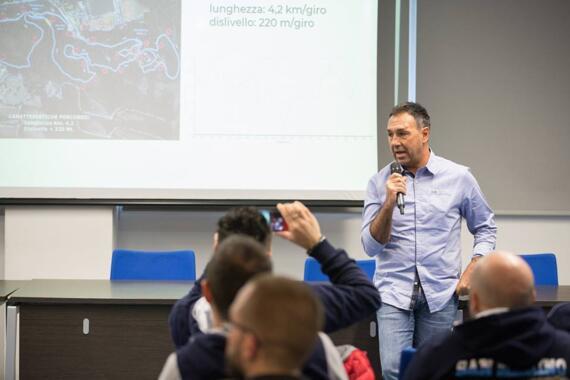 Presentazione Internazionali d'Italia Series