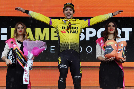 Il Giro d'Italia a San Marino