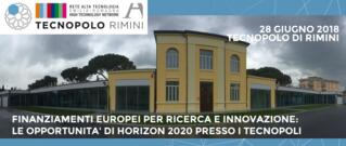 Finanziamenti europei per ricerca e innovazione: le opportunità di Horizon 2020 presso i Tecnopoli