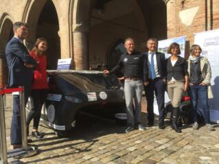 Rimini celebrates Emilia 4, the solar car winner of the American Solar Challenge