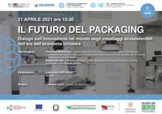 WEBINAR IL FUTURO DEL PACKAGING - innovazione nel mondo degli imballaggi ecosostenibili