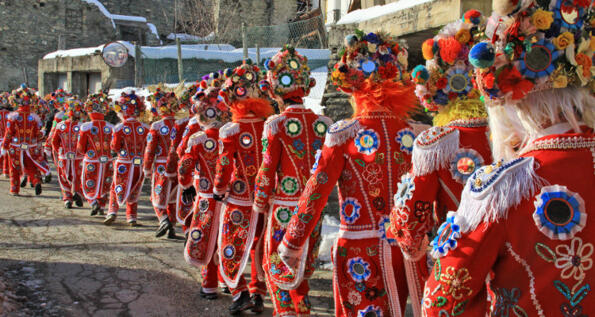 Valle d'Aosta in maschera
