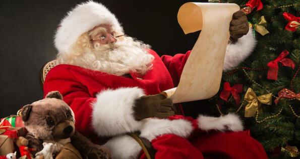 Porta la letterina a Babbo Natale