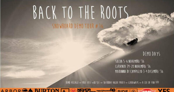 Back to the roots demo tour: test snowboard
