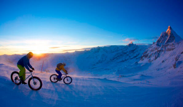 SNOW-BIKE DEL CERVINO