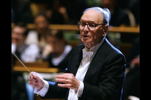 Ennio Morricone at the Arena, 18th - 19th May 2019