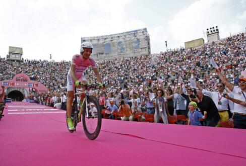 La tappa finale del Giro d'Italia a Verona