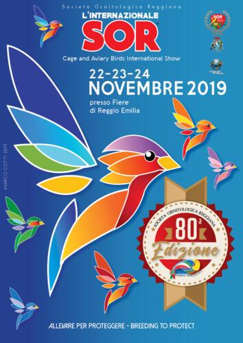 Cage and Aviary Birds International Show Reggio Emilia - 80° ed.