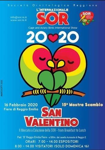 Mercato di San Valentino 15° ediz. - SOR Reggio Emilia (Italia)