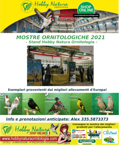Ornithological Exhibitions 2021 with Hobby Natura Ornitologia stand