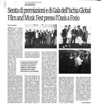 Ristorante Oasis, grande successo per Ischia Global Film & Music Fest