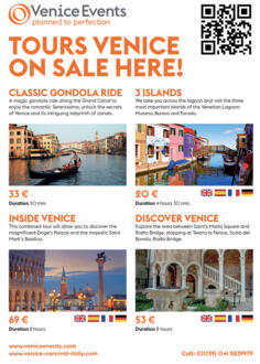 BOOK YOUR TOUR IN VENICE